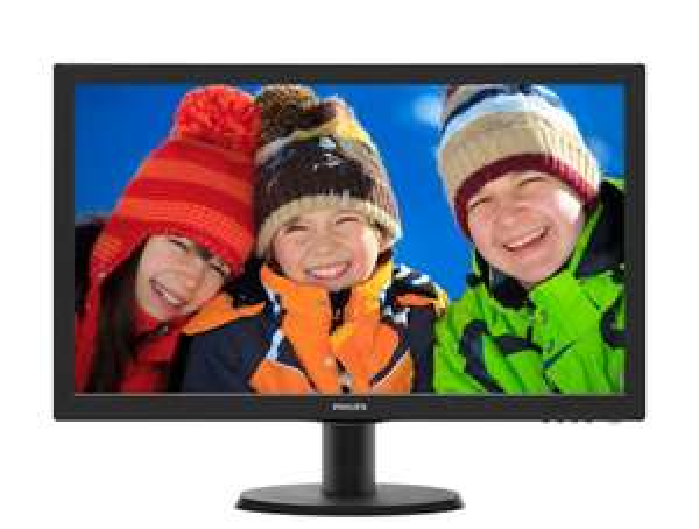 [@saturn] PHILIPS 243V5QHSBA, 24 Zoll Full-HD Monitor für 89€ inkl. Versand