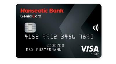 Kostenlose VISA GenialCard der Hanseatic Bank mit 25€ Startguthaben und 25€ BestChoice Gutschein