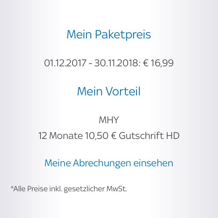 Sky Starter, Bundesliga und HD