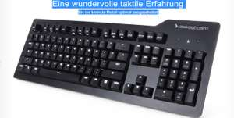 Das Keyboard Prime 13 - mechanische Tastatur - Cherry MX Brown - deutsches Layout