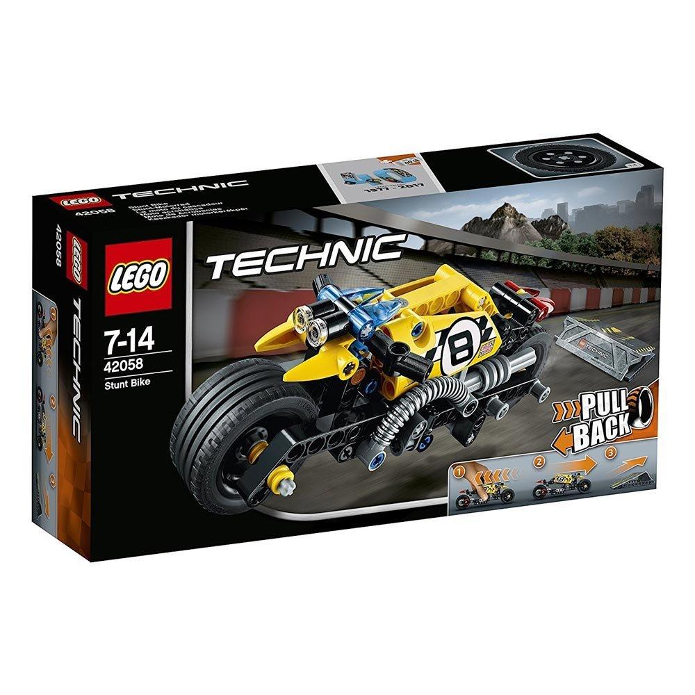 [Amazon oder MM] Lego 42058 Technic Stunt-Motorrad, Fortgeschrittenes Autospielzeug