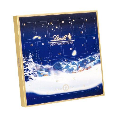 [Amazon] Lindt & Sprüngli Mini Tisch Adventskalender Weihnachts-Zauber, 2 Stück nur 7,49€ statt 1 für 6,99€