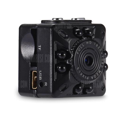 KELIMA SQ10 Mini 1080P HD DVR Dashcam mit Nightvision inklusive Halterung [gearbest]