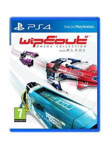 WipEout: Omega Collection (PS4) für 17,35€ (Base.con)