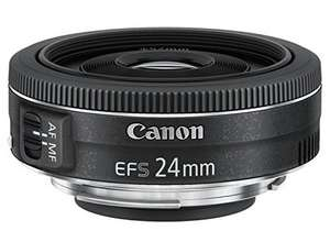 [Amazon] Canon EF-S 24mm 2.8 STM // 10€ Amazon Coupon