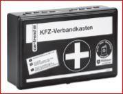 KFZ-Verbandkasten aktuell nach DIN 13164-2014 für 3,99 Euro [Globus Baumarkt]