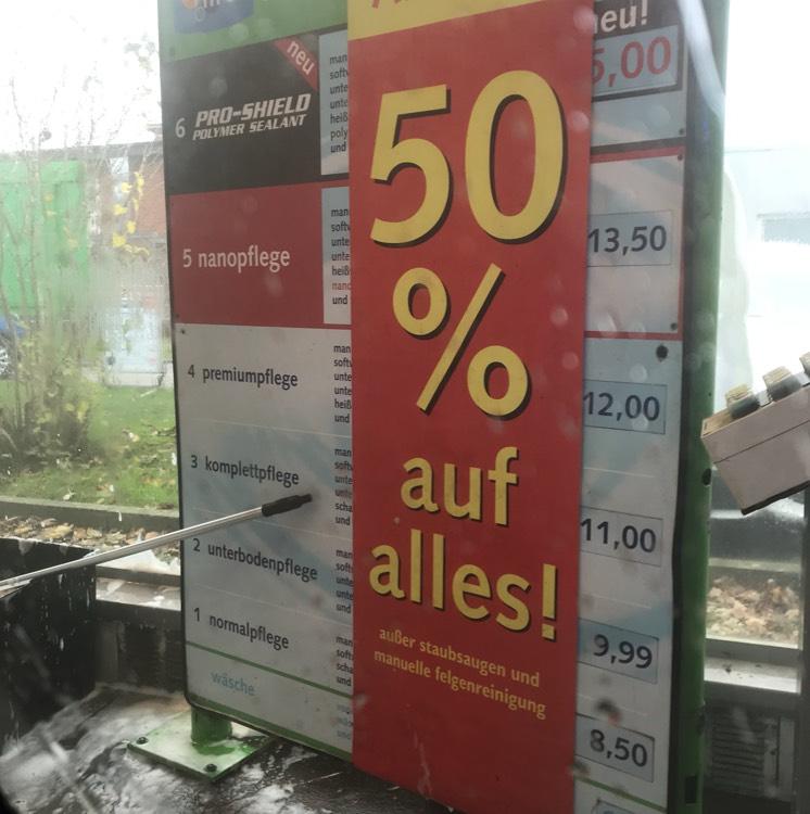 Lokal HH - IMO Waschstraße 50% auf alle Autowäschen + Kostenloses Saugen