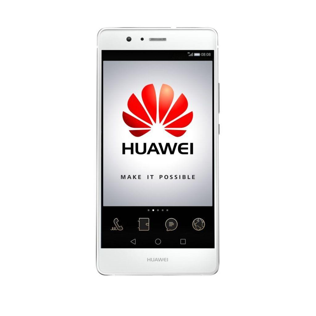 0815 Weekendknaller - Huawei P9 Lite Dual-SIM 16GB/2G weiß + Selfiestick