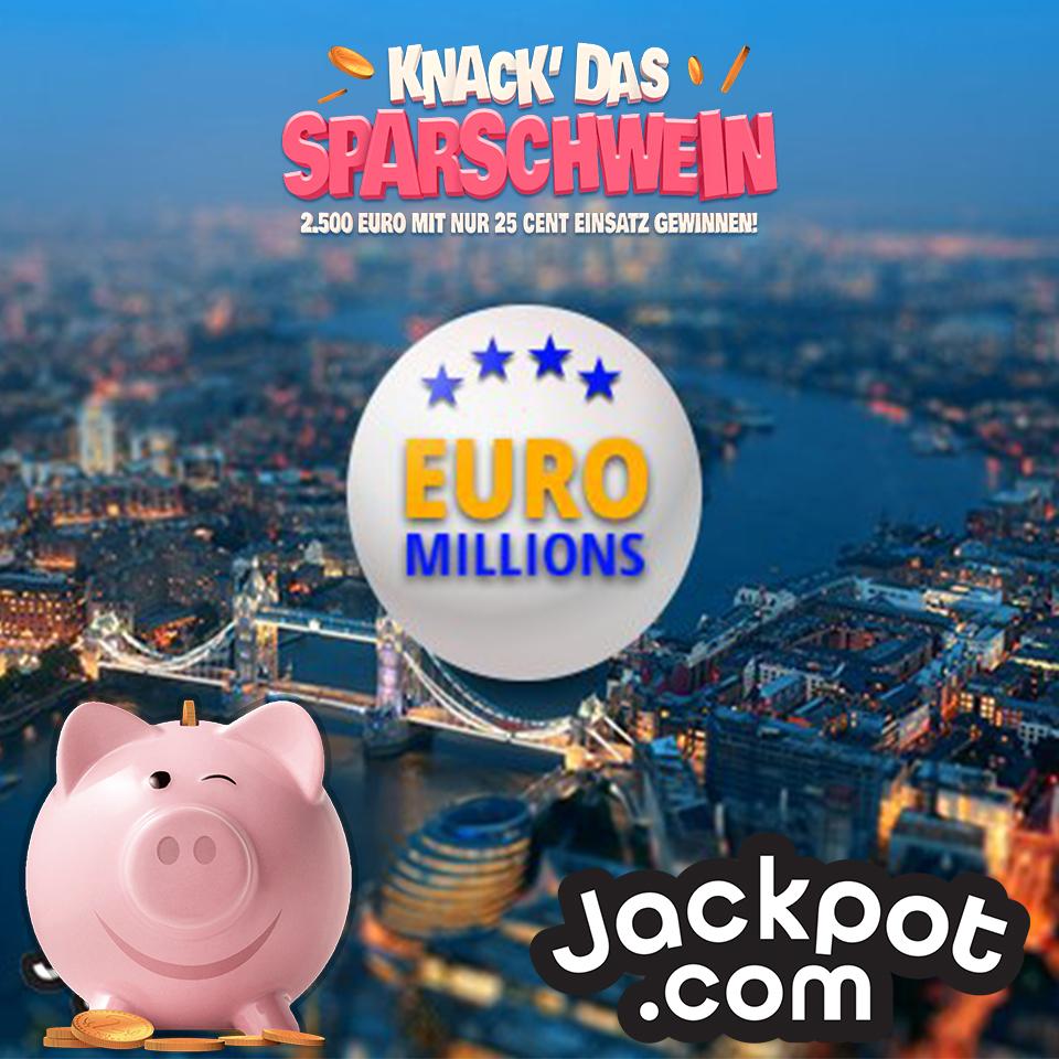 Für Neukunden von Jackpot.com 3 Tipps EuroMillions + 30 Rubbellose