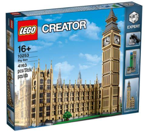 [Galeria Kaufhof ab 03.12.] LEGO Creator - Big Ben (10253) für 170€