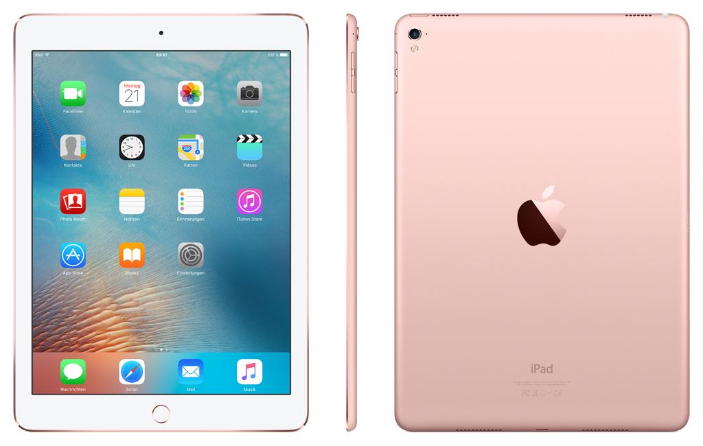 "Apple iPad Pro 9,7"" 2016 Wi-Fi + Cellular 32 GB roségold 499€ anstatt 829 €"