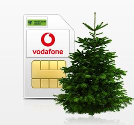 Mobilcom-debitel Vodafone Smart Surf für 4,99€ / Monat mit 2 GB UMTS + 50 Freiminuten & -SMS inkl. Premium Nordmanntanne