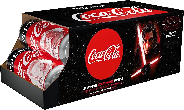 Coca Cola Zero Star Wars Editions Dosen zzgl Pfand im 10er Pack bei Aldi Nord ab Montag 4.12.