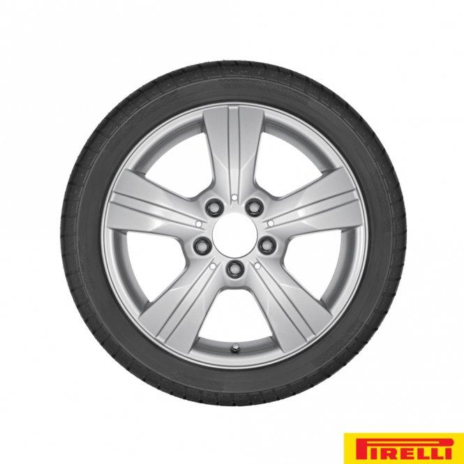 Mercedes-Benz A-Klasse W169 B-Klasse W245 Komplettrad-Satz Pirelli Sottozero DOT 2014
