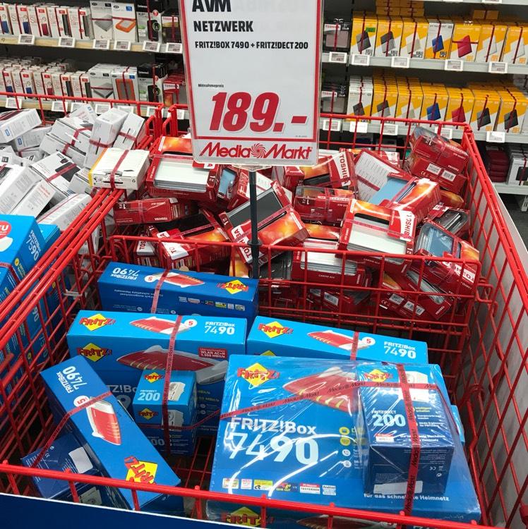 LOKAL MM Dresden Set: AVM FRITZ!Box 7490 & AVM FRITZ!DECT 200