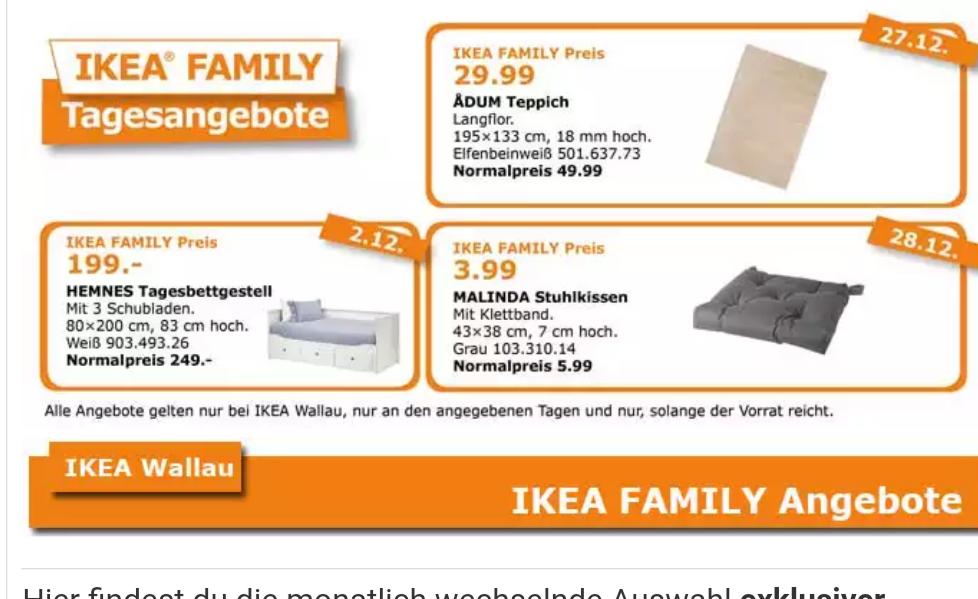 Ikea Hemnes Tagesbett nur am 2.12