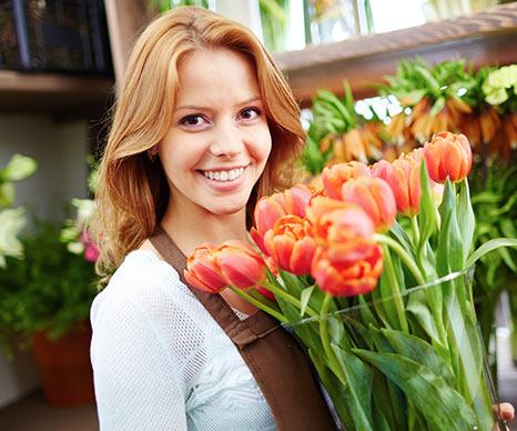 Blumen online bei REAL
