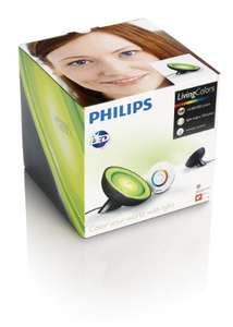 Philips myLiving Colors, 8 W, Bloom, schwarz
