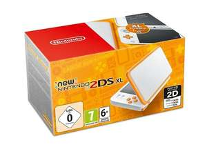 New Nintendo 2DS XL weiß/orange für 116,39€ (PVG 143,99€) [aktrade.de]