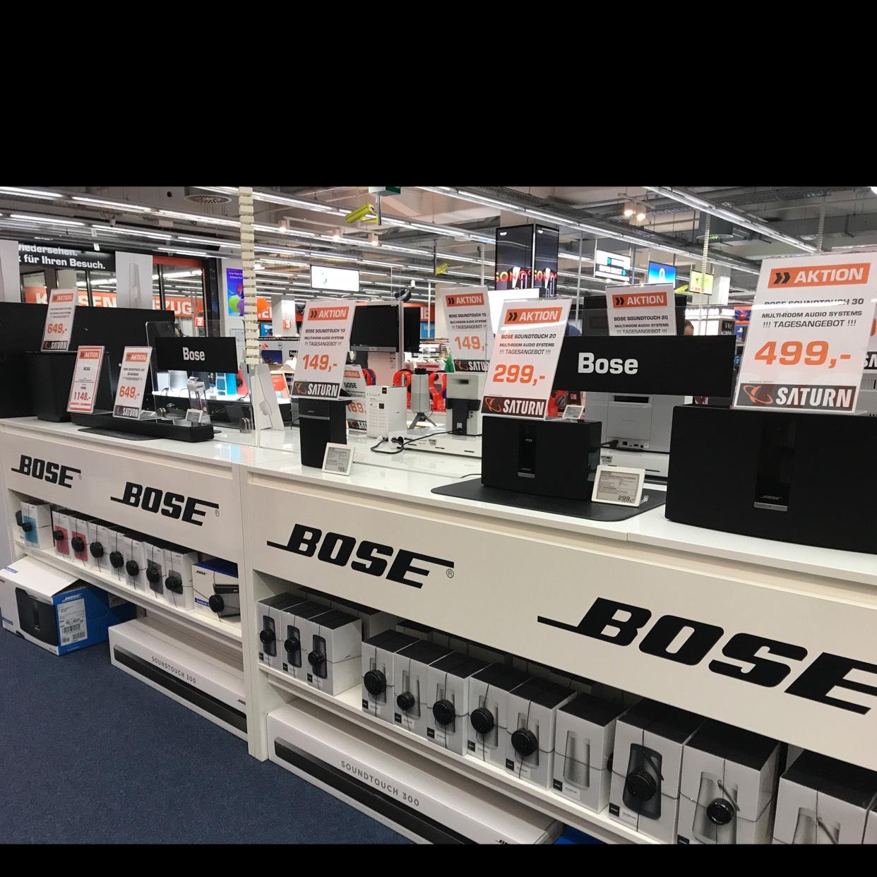 [lokal Saturn Hilden] Bose Soundtouch Serie zu Super Preisen