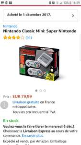 SNES MINI CLASSIC endlich! Amazon.fr