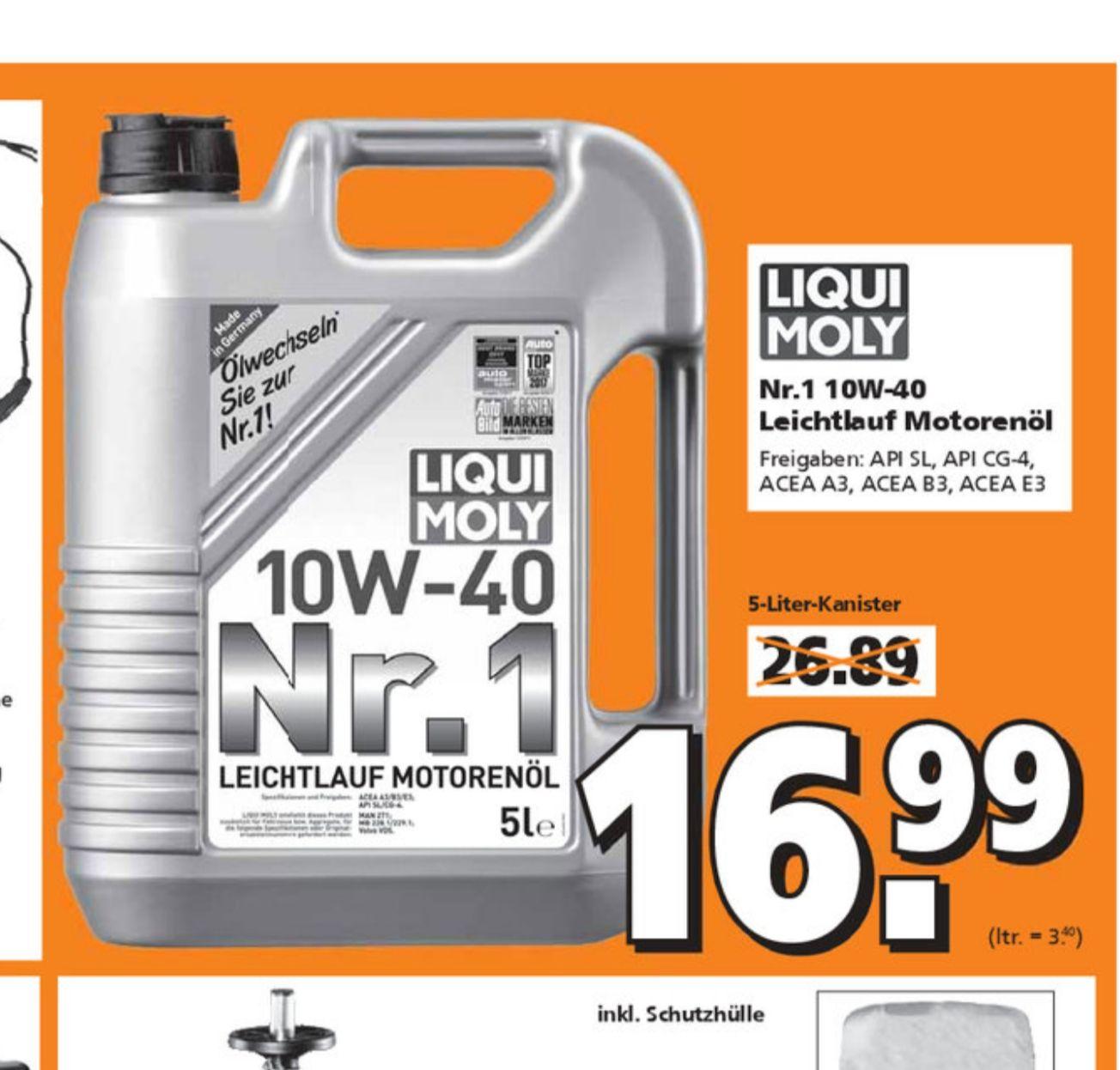 Leichtlauf Motorenöl LIQUI MOLY 10W40