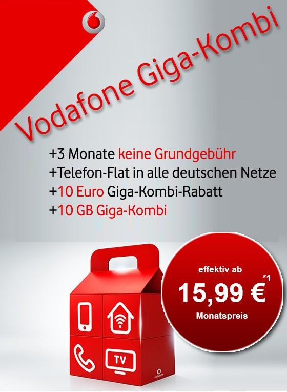 [Gigakombi] Allnet mit 14GB LTE für 15,99€/monatlich oder sogar günstiger