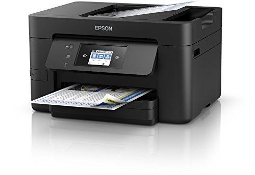 [Amazon] Epson WorkForce Pro WF-3720DWF 4-in-1 Tintenstrahl-Multifunktionsgerät (Drucker, Scanner, Kopierer, Fax, ADF, WiFi, Ethernet, NFC, Duplex, Einzelpatronen)