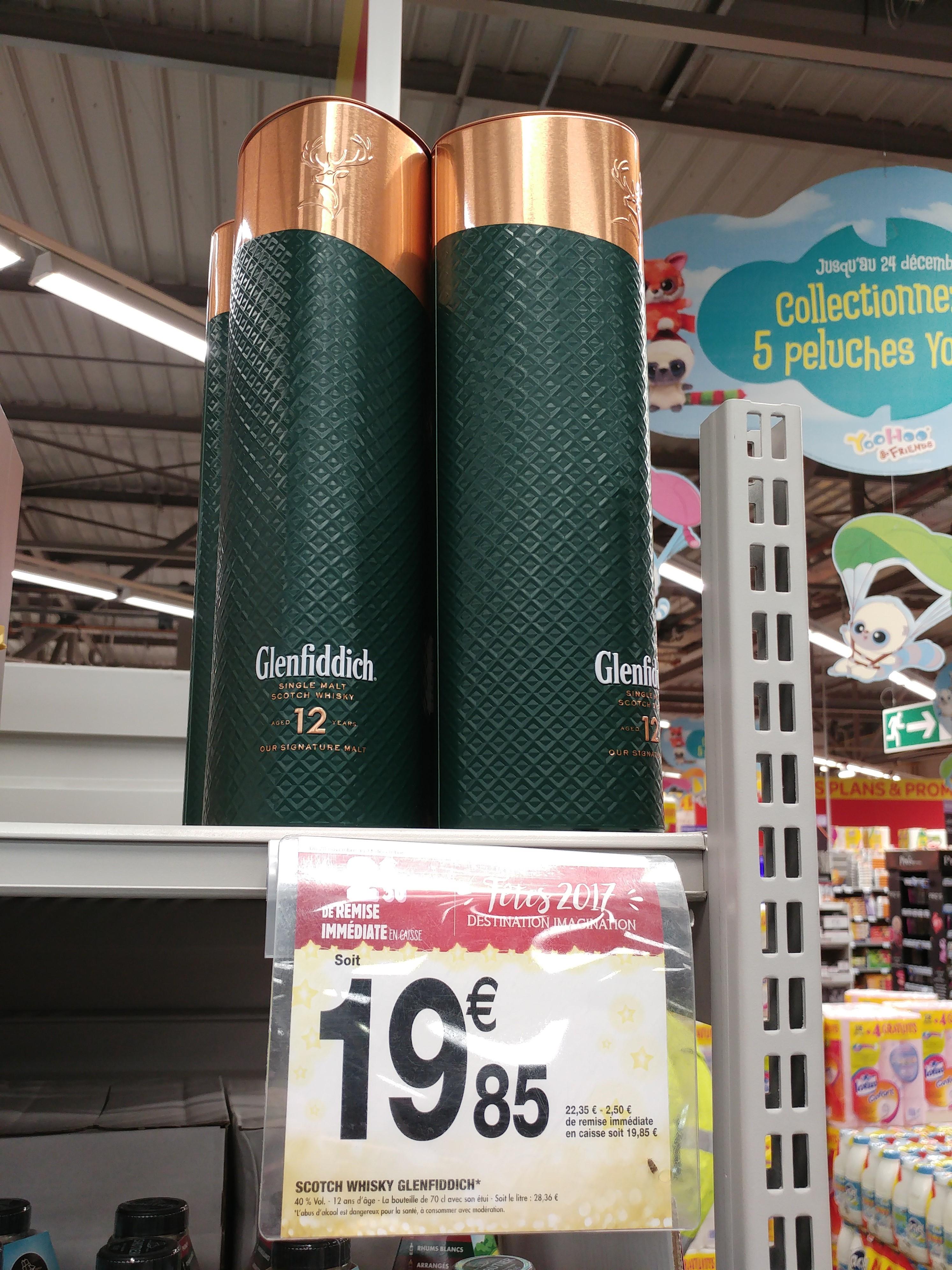 [ Grenzgänger ] Frankreich Carrefour div. Whiskys z.B. Glenfiddich 12, Cardhu, Aberlour,  Glenmorangie