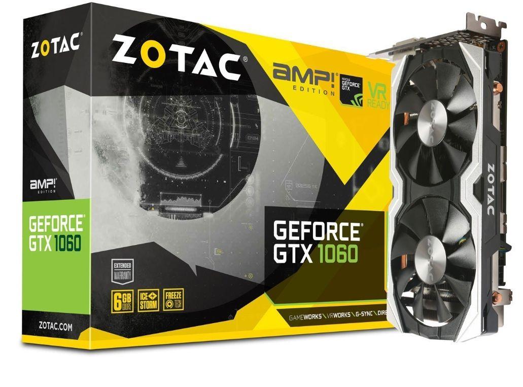 [Amazon.fr] Zotac GTX 1060 6GB AMP Edition