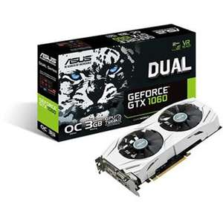 Asus GeForce GTX 1060 DUAL OC 3GB mit Gratis Xbox 360 Controller