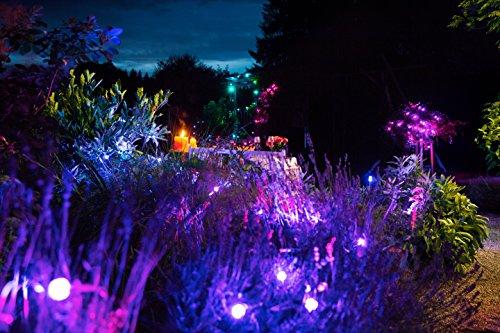 Osram LED Gartenleuchte Lightify mit 5 Spots, 8,5m, Osram Lightify Flex LED Streifen 5m für Außenanwendung, Osram Lightify Flex LED-Streifen Erweiterung 60 cm Länge [Prime]