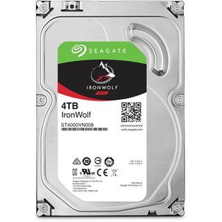 Seagate IronWolf 4TB NAS HDD für 92,85€ incl. Versand (0-6 Uhr) bei [Mindfactory]