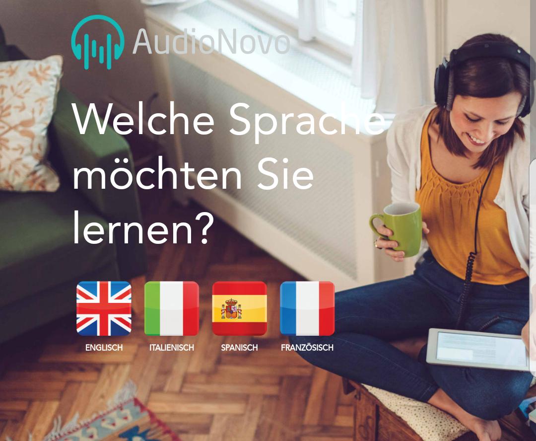 [AudioNovo] Sprachkurse (CD o. als Download) mit 50 % auf das gesamte Sortiment