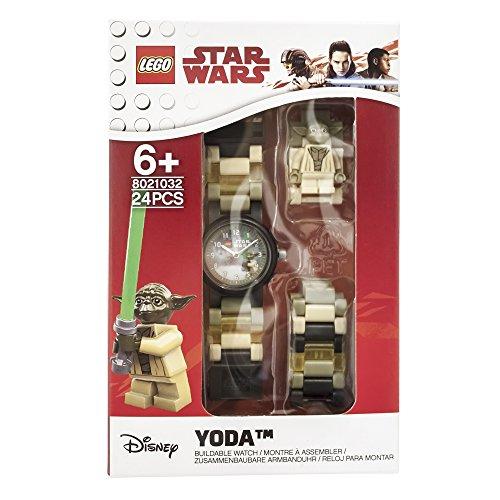[Amazon Prime] LEGO Star Wars Yoda Kinder-Armbanduhr