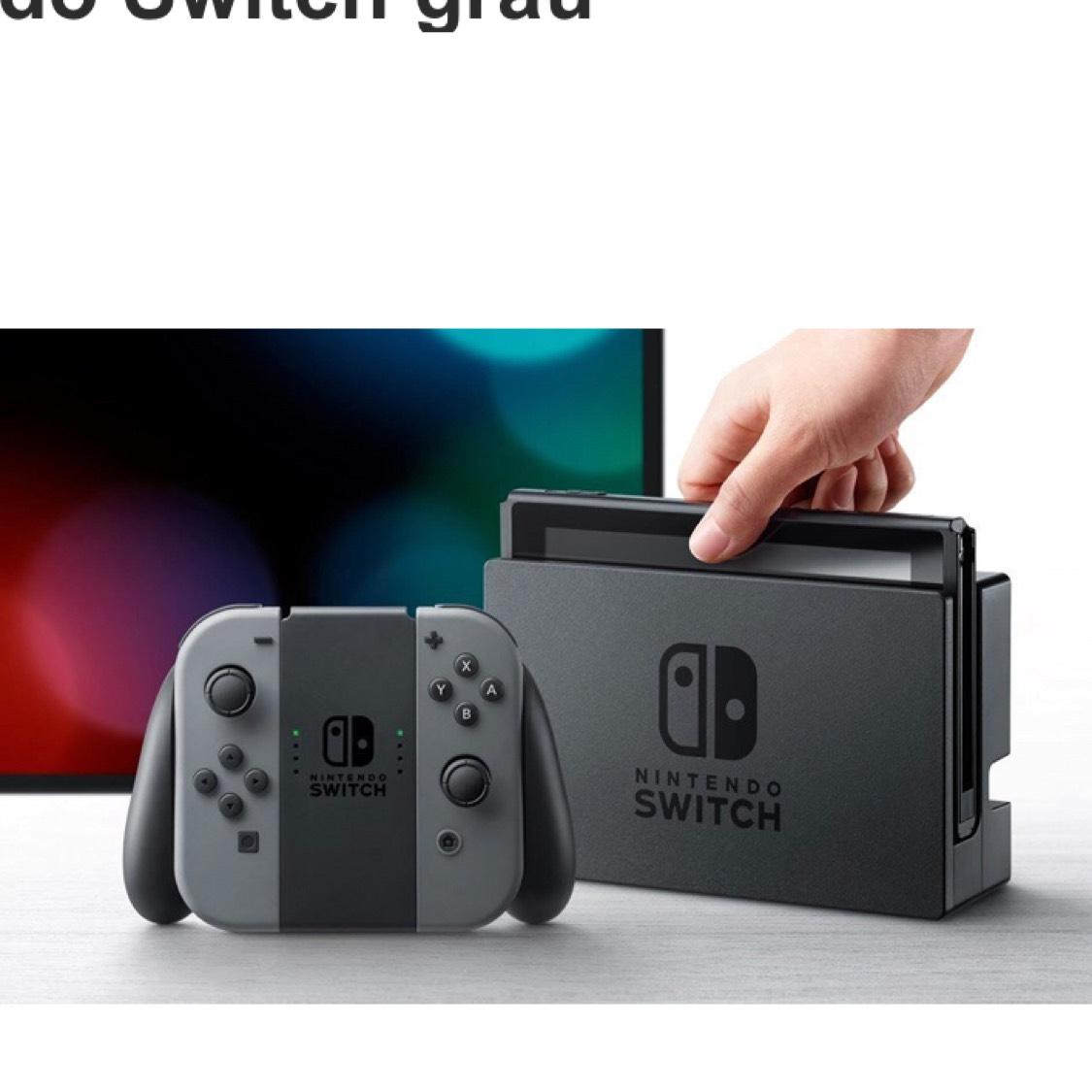 Nintendo Switch in Grau für 272€ bei Rakuten
