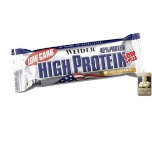 Weider Low Carb 40% High Protein Bar  20x100g Latte Macchiato