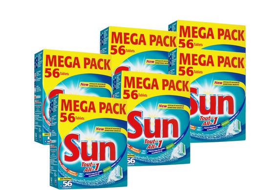 Sun All-in-1 Geschirrspültabs (336 Stück) für 43,90€