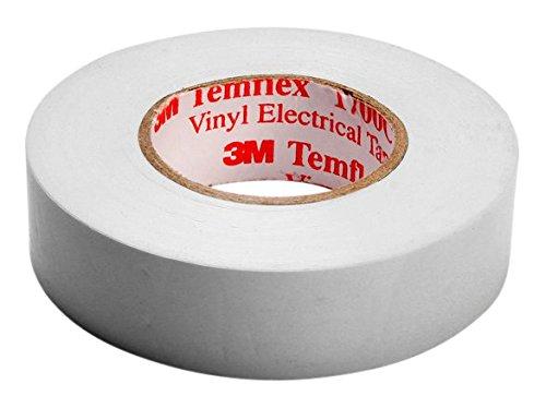 [AMAZON PRIME] 3M Vinyl Elektro-Isolierband, 15 mm x 10 m, 0,15 mm, Weiß (TWEI1510 Temflex 1500)