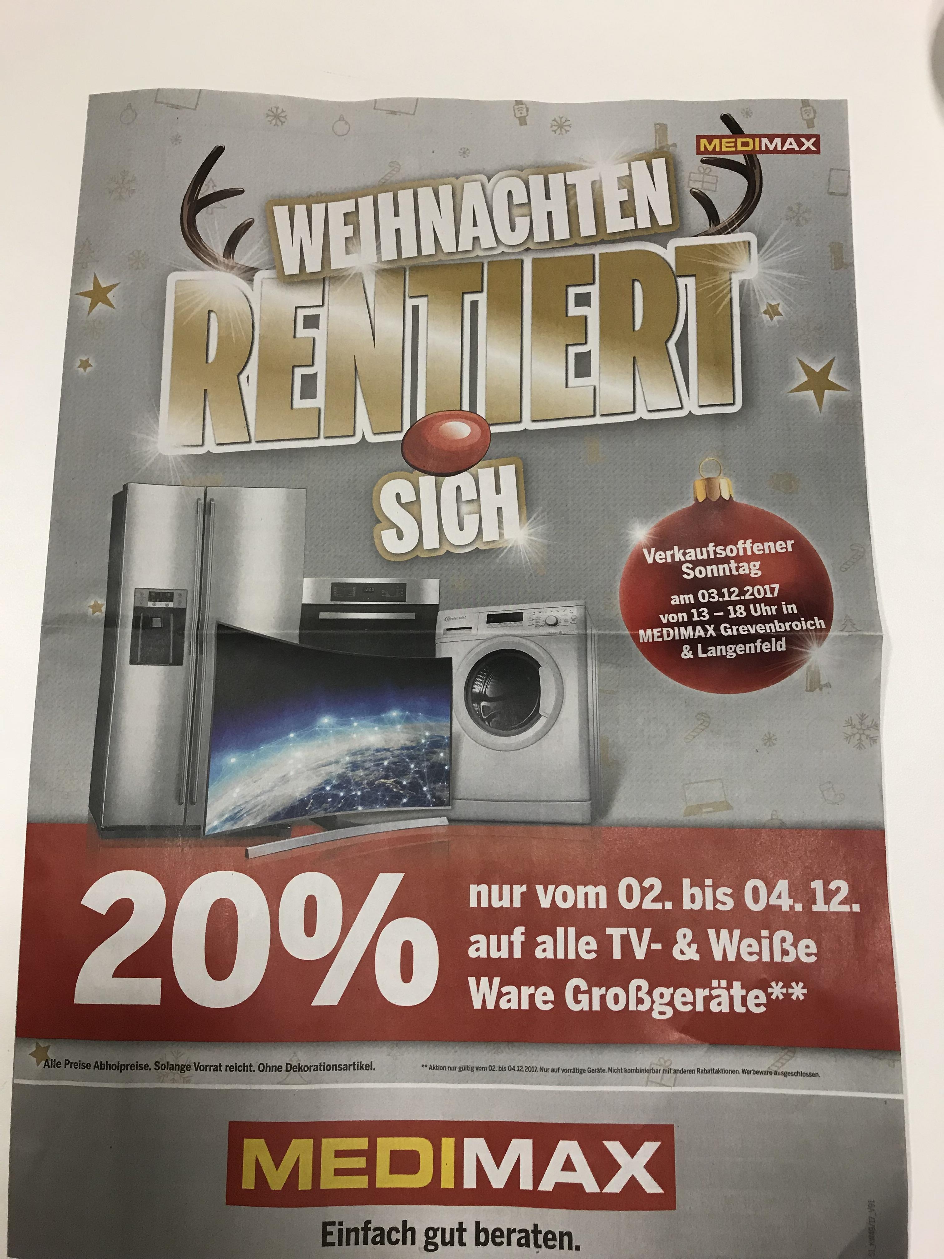 Medimax Grevenbroich 20%