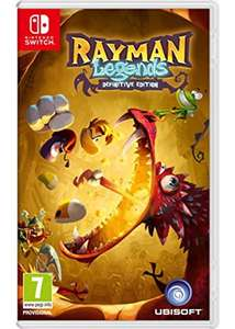 Rayman Legends: Definitive Edition (Switch) für 25,10€ (Base.com)
