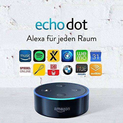[Amazon.de] Wieder Da: Amazon Echo Dot (2. Gen) für 34,99€!