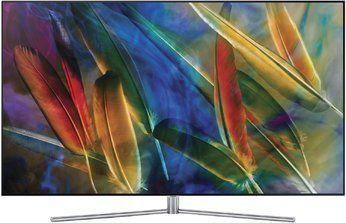 "Samsung QE55Q7F 138 cm (55"") LCD-TV mit LED-Technik sterling silber / Binkl. superdeals gratis Zugabe Samsung Galaxy A5 [Euronics]"