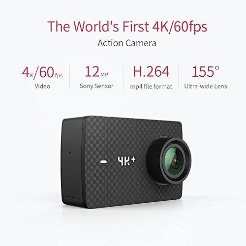 [Amazon] (Xiaomi) YI 4K plus Action Cam 4K/60fps inkl Unterwassergehäuse, UV-Linse und  Hülle