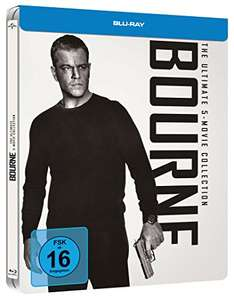 The Bourne Box 1-5 (Blu-ray) (Steelbook) für 19,97€ (Amazon Prime)