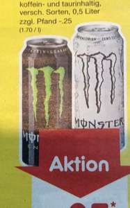 (Netto) Monster Energy Drink für 0,85€