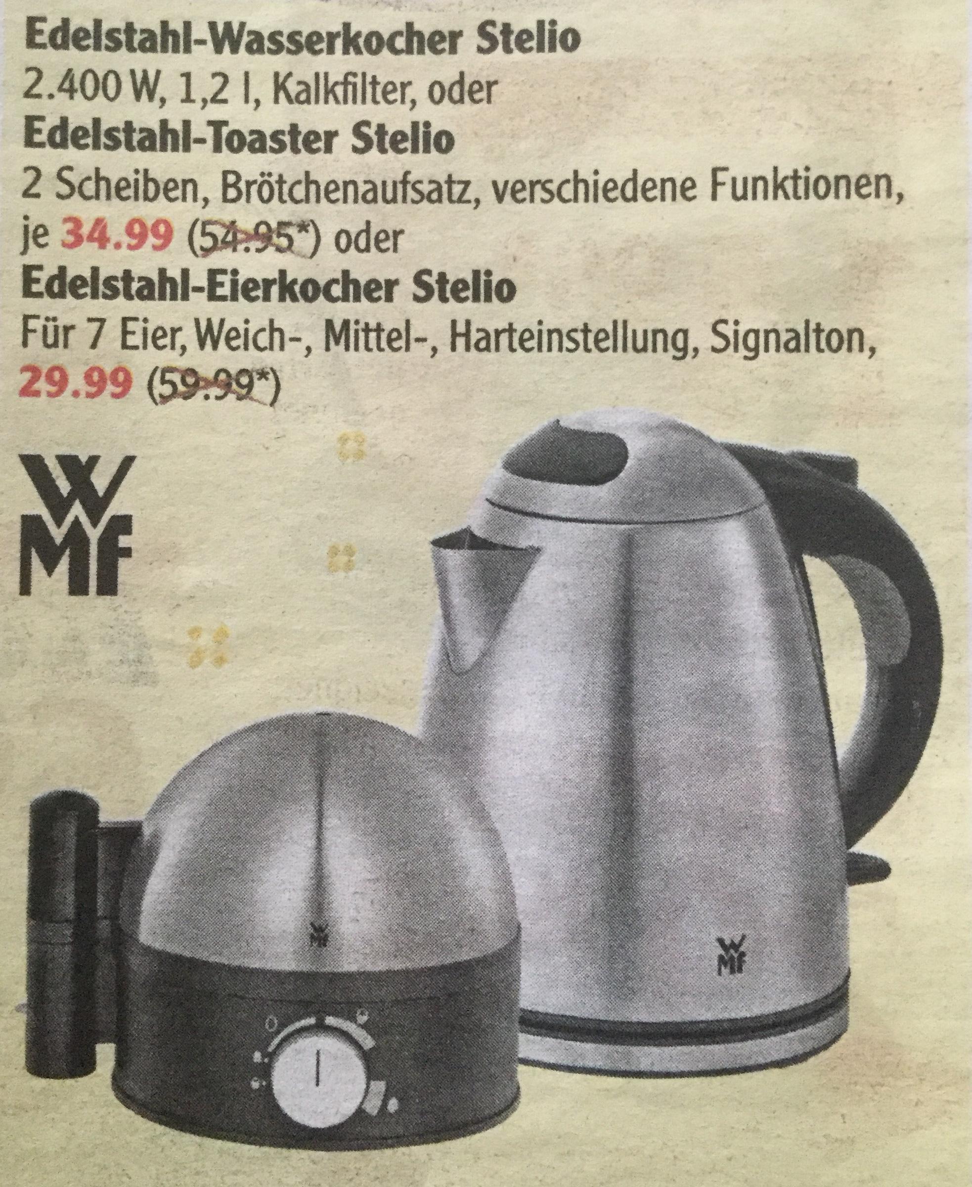 WMF Eierkocher Stelio bei Globus Rüsselsheim