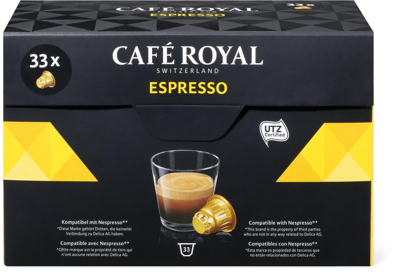 [Café Royal Switzerland] 40% Rabatt auf das gesamte Sortiment (u.a. Nespresso-Kapseln)