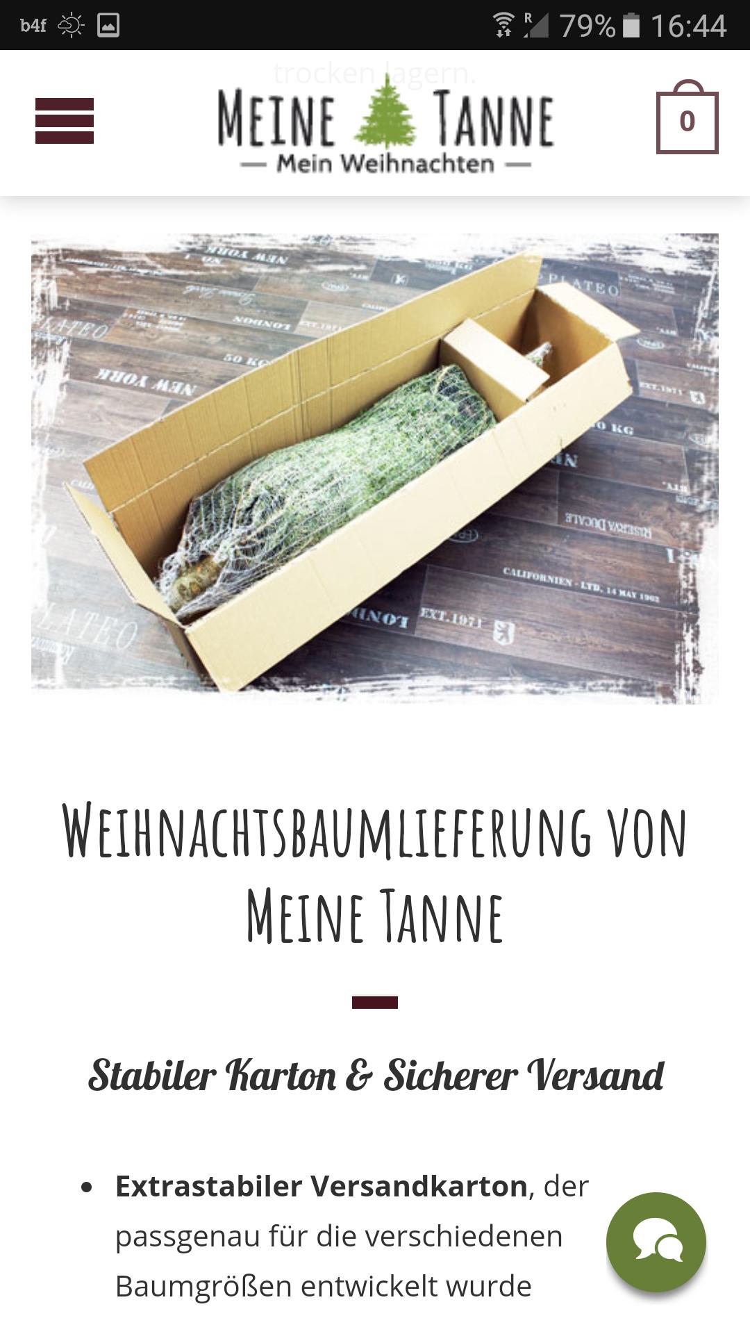 meinetanne.de - Gratis Versand