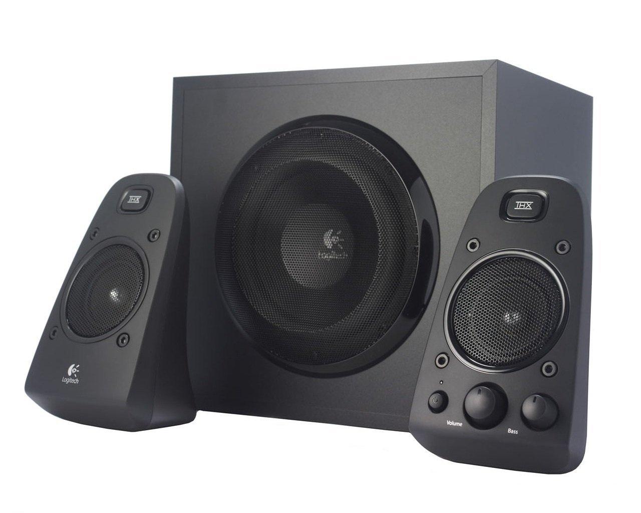 Logitech Z623 Soundsysteme 2.1 Stereo-Lautsprecher THX (Subwoofer) schwarz für 88€ versandkostenfrei (Saturn + Amazon)